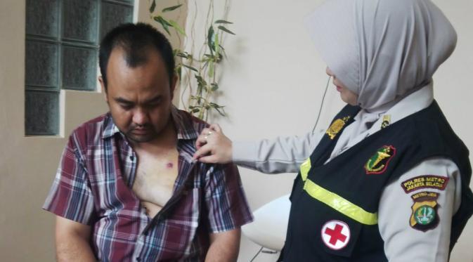 Korban Bon Sarinah, MH Thamrin, Jakarta Mendapat Pelayanan Trauma Healing (LIputan6.com)