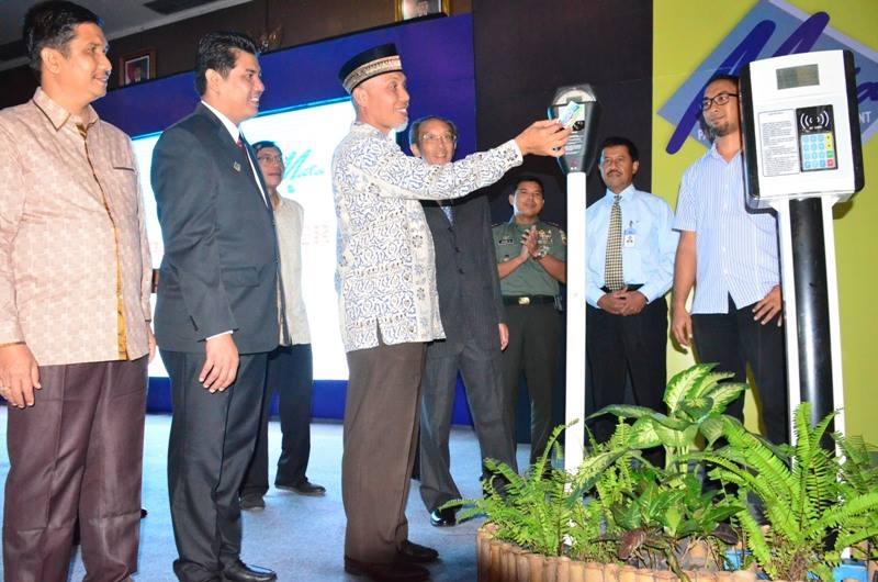 Launching Parkir Meter di Padang. Foto : Istimewa
