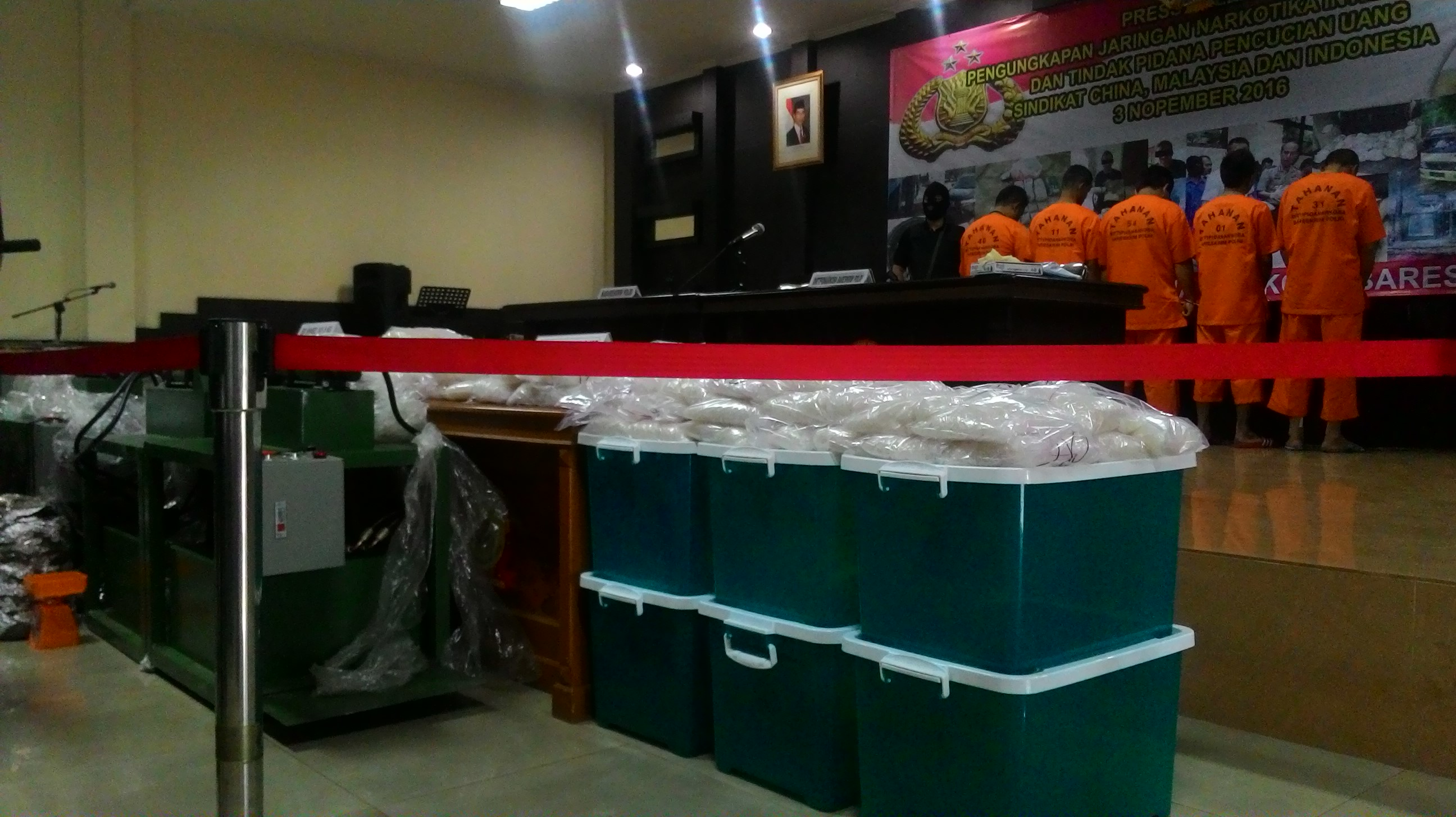 Dua sindikat Narkoba Internasional yang ditangkap Bareskrim Polri. Foto : Istimewa