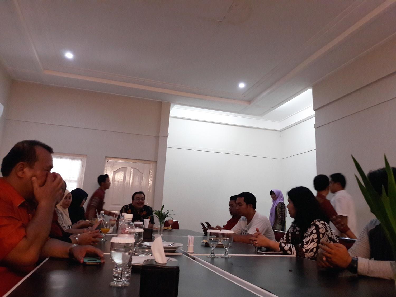 Temu ramah tentang pelayanan Rumah Sakit Umum Daerah (RSUD) M Djamil Padang. Foto : Istimewa