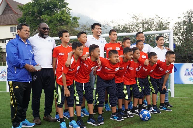 Anak-anak kebanggan Indonesia, AQUADNC Garuda Muda 2016 bersama para pelatih dan Marketing Manager Danone AQUA bersiap melakukan latihan intensif di kawasan Agrowisata Batu, Malang selama 10 hari yaitu dari tanggal 28 September hingga 9 Oktober 2016.