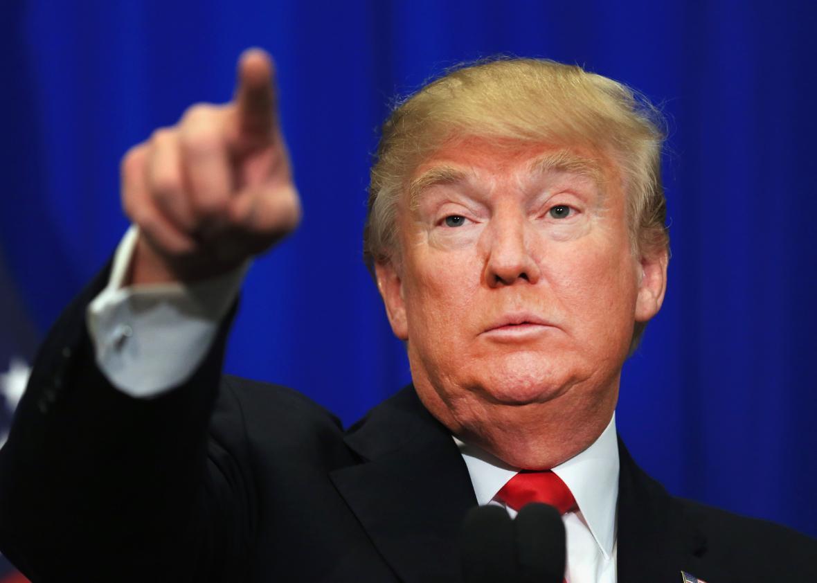 Calon Presiden Amerika Serikat Donald Trump
