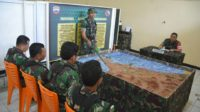 Simulasi Tanggap Darurat Bencana digelar Kodim 0312 Padang. Foto : Istimewa