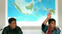 Menteri Kelautan dan Perikanan RI Susi Pudjiastuti saat menerangkan terkait kenaikan MSY dalam melawan perang illegal fishing