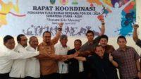 Rapat Koordinasi Persiapan Tuan Rumah Bersama PON XXI/2024
