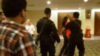 Detik-Detik saat peristiwa antara Wartawan Antara dengan Brimob di venue JCC, Jakarta