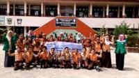 Program Besgram yang digagas oleh lima mahasiswa Fakultas Keperawatan, Universitas Andalas di SDN 08 Alang Lawas, Kota Padang.