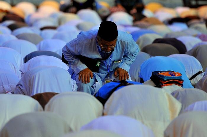 Pelaksanaan Haji di Mekkah.