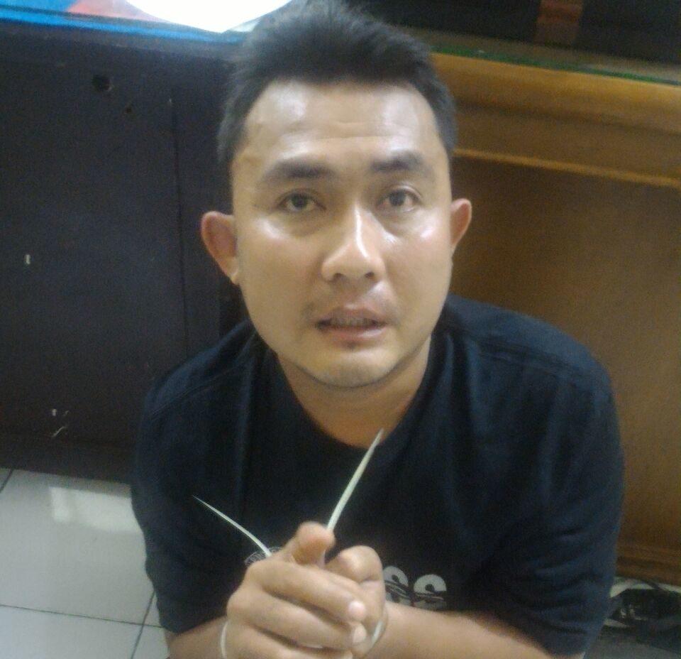 Pelaku penipuan, Nofri Yosrizal (28). Foto : Istimewa