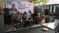 Forum Group Disscousuin (FGD) Pemilu 2019 Damai Tanpa Ujaran Kebencian di J-Six Cafe, Kota Padang, Jumat (28/9/2018).