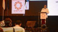 Menteri Perhubungan Budi Karya Sumadi dalam acara Seminar dan Dialog Nasional Kesiapan UMKM dan Ekonomi Kerakyatan di Era Revolusi Industri 4.0 di Semarang, Jawa Tengah, Selasa 12 Maret 2019. Foto : Istimewa