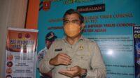 Ketua Harian Gugus Tugas Percepatan Penanganan atau GTP2 Covid-19 Kabupaten Agam Martias Wanto